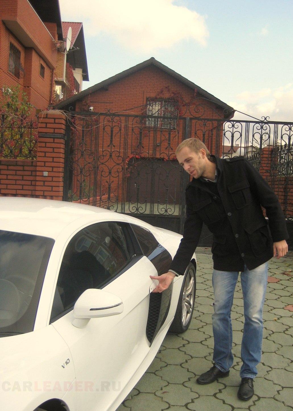 спорткар Audi R8