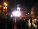 Трубач з Харкова грає гімн на Грушевського (20.01.2014)
