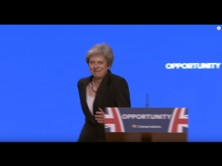 La fameuse danse  de Theresa May ... aller pour le fun voila ma version !!!