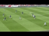 Heres the Aguero goal for Man City. Foden gets behind Chelseas midfield, runs at defense