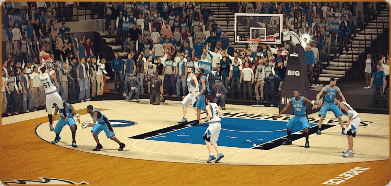 Победная треха в НБА2К13