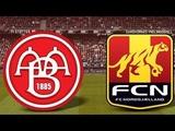 Alka Superliga Runde 5. AaB - Fc Nordsj