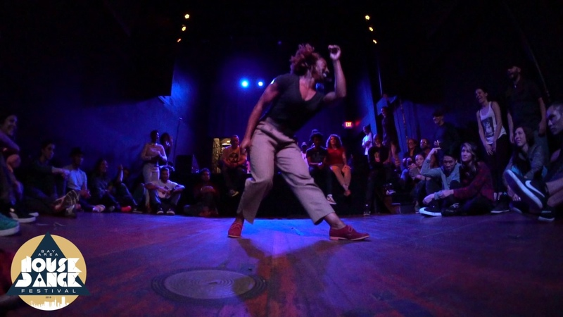 Bay Area House Dance Festival Performance | LaTasha Barnes (Vernacular Jazz mashup) 2016