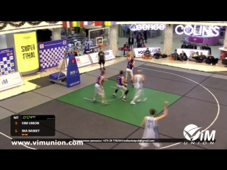 Palova Snowball 3x3. ViM Union vs. SKA-Basket