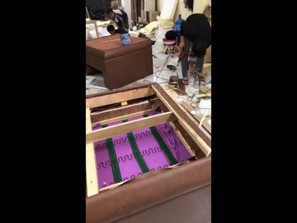 Thăm quan xưởng sản xuất sofa của nội thất Đăng Khoa