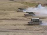 ТОС залпового огня на базе танка Т-72 Буратино