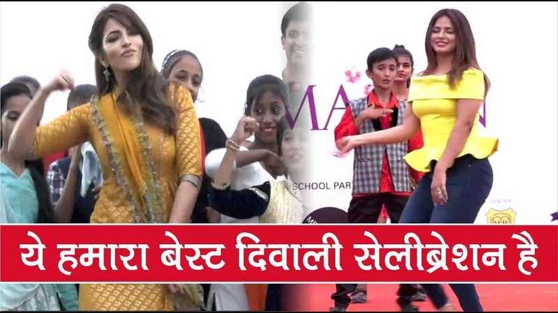 Neetu Chandra And Shama Sikander Celebrates Diwali With 350 Under Privileged Kids