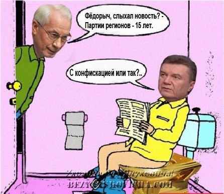 """Партия регионов подала заявление в милицию на """"свободовцев"""" за сожжение их флаг - Цензор.НЕТ 368"""