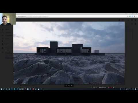 3Ds MAXCORONA RENDER.4D Марафон.День 2.Озеленение и ландшафт.(Артем Куприяненко-CG Incubator)