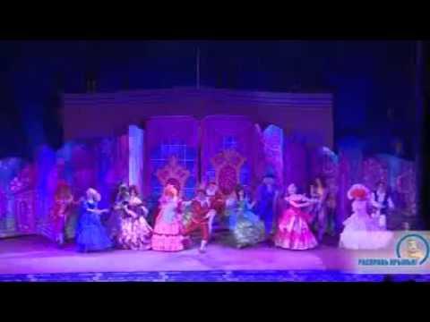 Щелкунчик, Супер новогодние елки на Казанском вокзале РЖД , московский театр