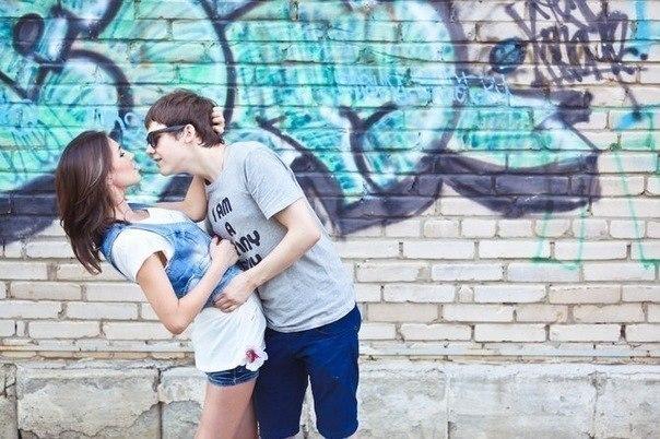 Как сделать фото типа с парнем