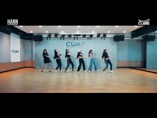180820 (G)I-DLE Hann @ Dance Practice