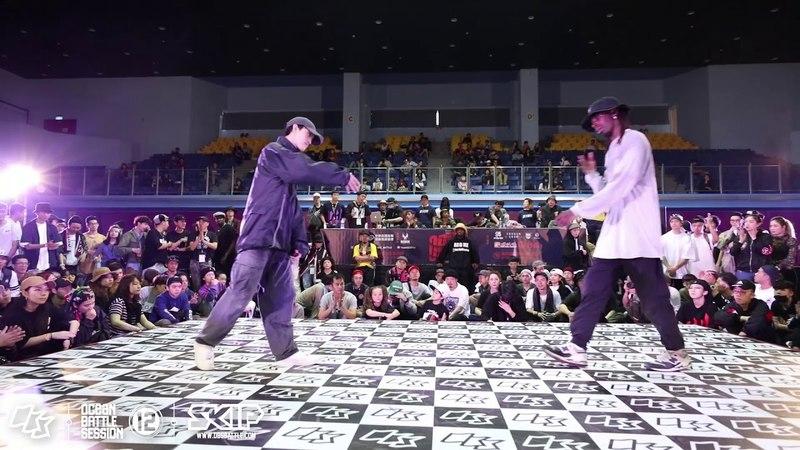 HipHop Semifinal 1 A Xian vs Bouboo|180304 OBS vol.12 Day3