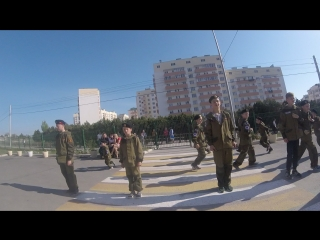 Репетиция показухи в Бухте Казачья