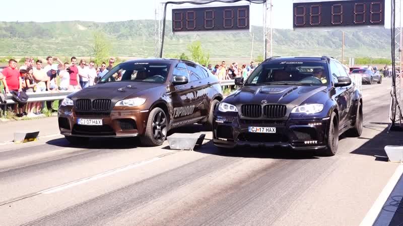 BMW X6-M HAMANN 900HP vs BMW X6-M G-POWER 900HP