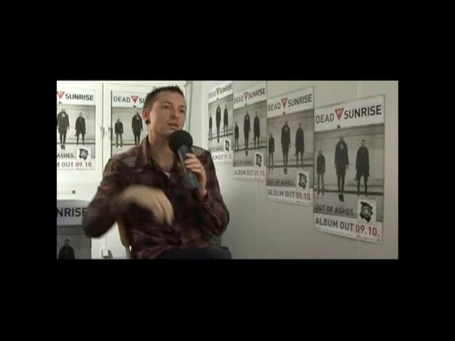 Dead By Sunrise Chester Bennington interview rus sub русские субтитры