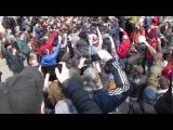 26 03 17 Драка и Массовое задержание на Митинге  Он нам не Димон  Владивосток