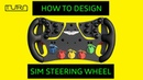 How To Build A Sim Wheel - Part 1 - CAD Render