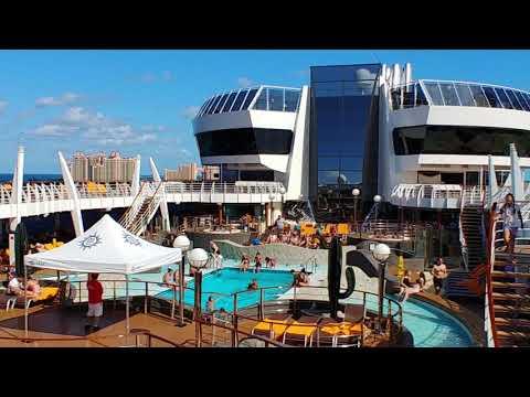 MSC Divina upper decks walk-through
