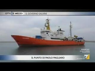 Otto e Mezzo (La7) 12 Giugno 2018 - MATTEO SALVINI (MINISTRO DELLINTERNO - LEGA)