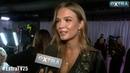 Josephine Skriver Reveals Her Beauty Secret Backstage at Victoria's Secret Show