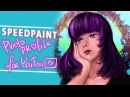 |SPEEDPAINT| Photo Profile For YouTube| Я трындю ♥