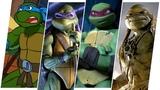 TMNT Evolution in Movies, Cartoons &amp TV (Teenage Mutant Ninja Turtles)