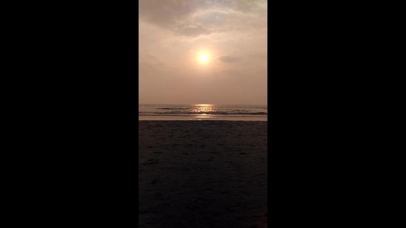 пляж Индии AShvem bech
