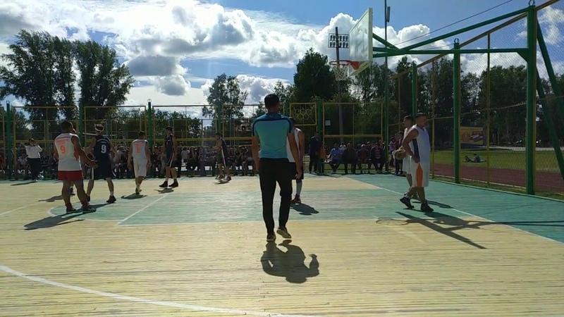 Сельские игры Колпашево 2018 - Баскетбол Новоселово - Тогур