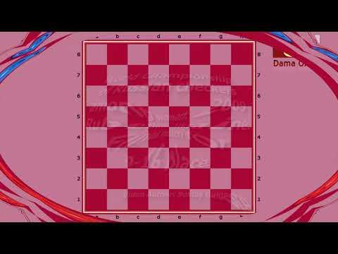 Sarshaeva Zhanna (RUS) - Romanskaya Yuliya (MDA). World Draughts-64_women-2009. Final,.
