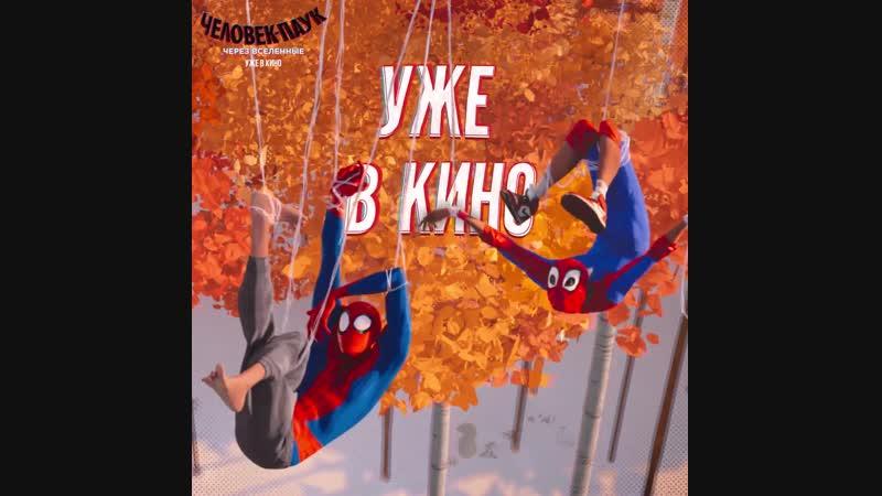 Человек-Паук- через вселенные - Уже в MORI Cinema