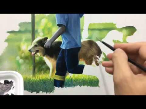 Pintura hiper-realista - millani