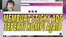 Cara Modif Sticky Ads Non AMP Template Kompi Ajaib AMP v3