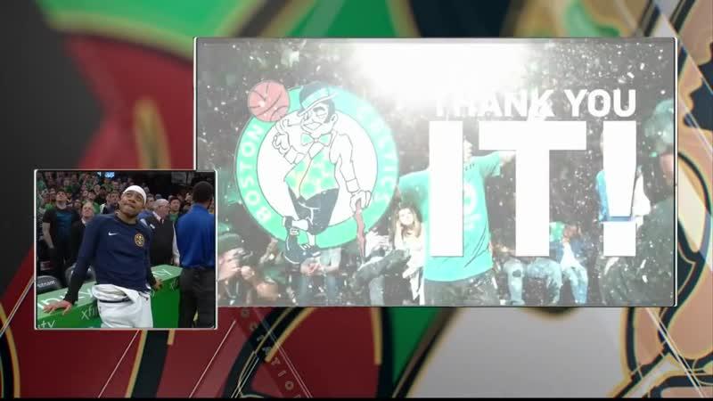 Селтикс показали видео в честь Айзеи Томаса