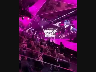 """November 8: Selena Gomez's song """"Bad Liar"""" was being played at the 2018 Victoria's Secret Fashion Show!"""