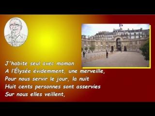Macron selon Aznavour
