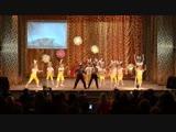 Танец зайчиков и волчат Урдомский Дом Культуры 23 декабря 2018 года