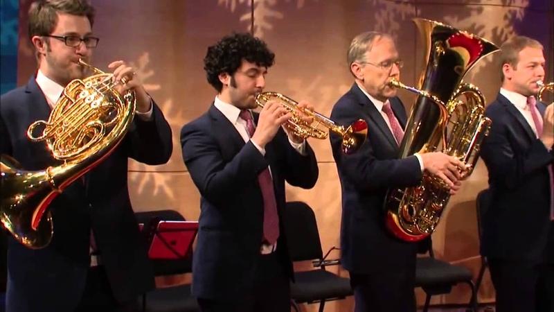 Quinteto de viento metal. Canadian Brass