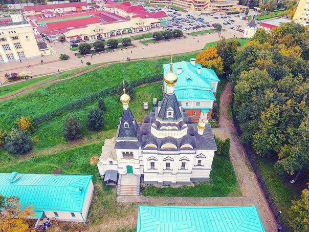 Елизаветинская церковь в Дмитровском кремле.  Тюремная Елизаветинская