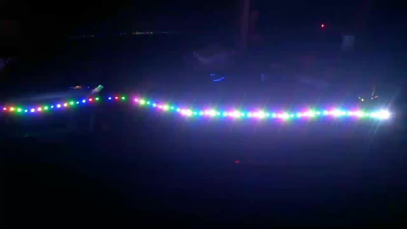 первая проба светодиодной ленты на ардуино