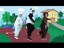 ДЕЛОВАЯ МАШИНКА - Маша и Три Медведя - Детская песенка про Машину - Kids Song Ab