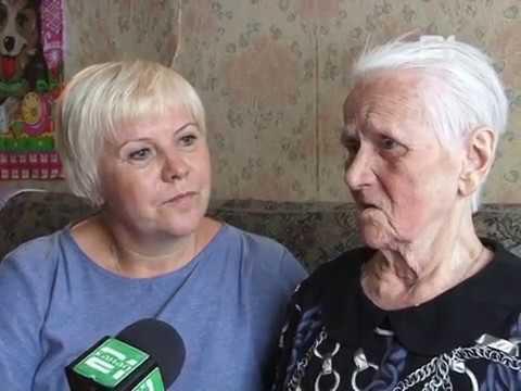 Поздравление ветерана Г.М. Смирновой-Нечаевой с 90-летием