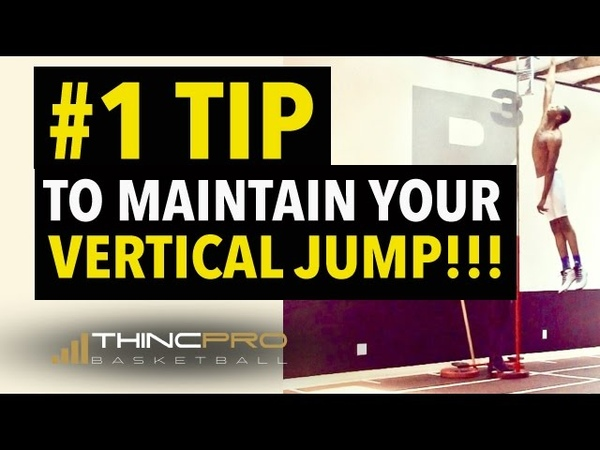 NUMBER ONE TIP To Maintain Your Vertical Jump - How to Jump Higher, Vertical Jump Training