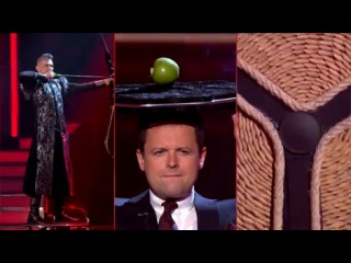 Вытупление иллюзиониста на Шоу талантов Великобритании