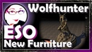 ALL the new furniture Housing Preview ESO Wolfhunter Icy Talks 20180710