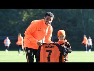 Как 7-летний мальчик попал на тренировку Шахтера и познакомился с Тайсоном