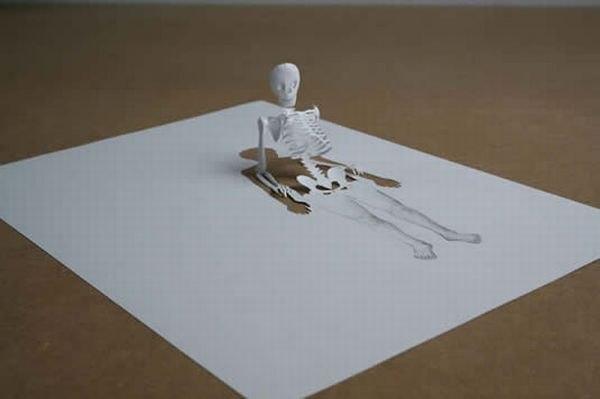 Бумажные скульптуры Peter Callesen LZ8tTZga_jc
