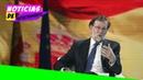 Rajoy sorprende al revelar cómo fueron los últimos días que pasó en Moncloa