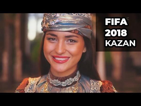 FIFA 2018 KAZAN TATARSTAN RUSSIA. EVA RICHIE - SIN BIT HӘRÇAQ ALDA!