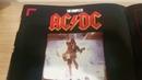AC/DC TOUR PROGRAMME 1988 BLOW UP YOUR VIDEO